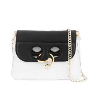 J.W. Anderson Black and White Mini Pierce Bag